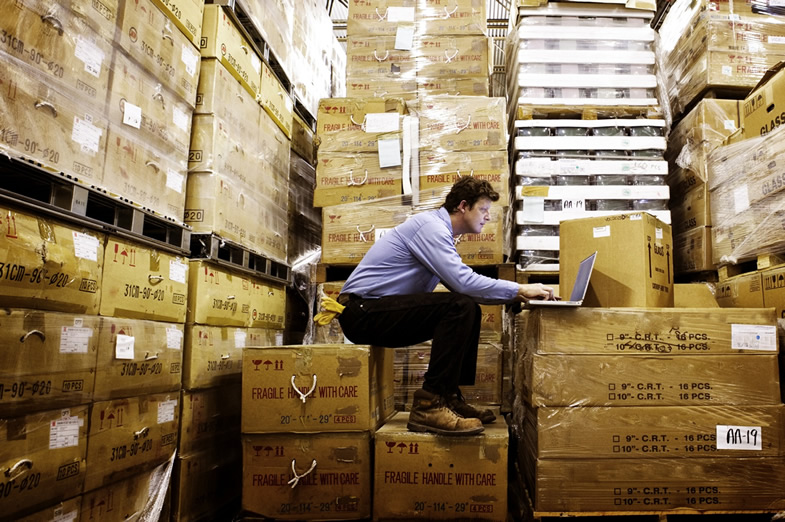 Logistical nightmare? How to cope with an overflow of stock
